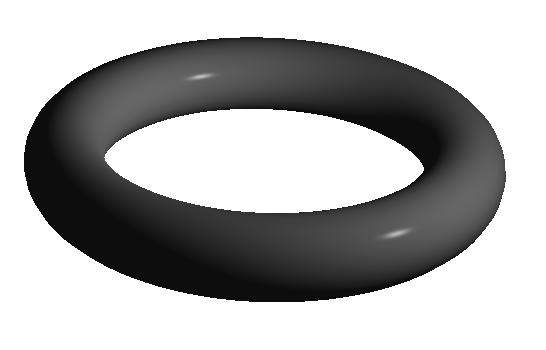 Qt 3D Torus example